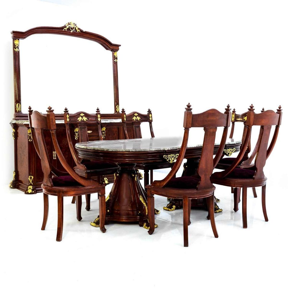 Τραπεζαρία L9-10040-French Style Dining Room L9-10040