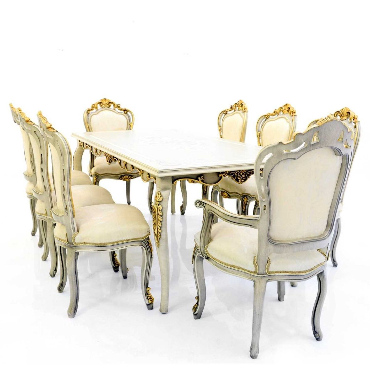 Τραπεζαρία K9-10038-French Style Dining Room L9-10038